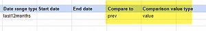 Comparison Dates of SuperMetrics queries are ignored during import